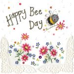 Birthday Card - Happy Bee Day - Female - Sparkle - Alex Clark