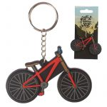 Bicycle Bike Cycling Novelty PVC Keyring