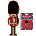 London Coldstream Guardsman Design Enamel Pin Badge