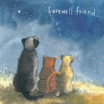 Pet Sympathy Card - Farewell Friend Cat Dog - Alex Clark