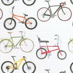 Cycling Bike Wrapping Paper Sheets & Tags - Arty Penguin