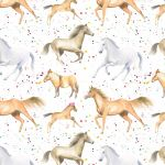 Horse Pony Party Wrapping Paper Sheets & Tags - Arty Penguin