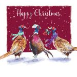 Christmas Card - Festive Pheasants - The Wildlife Ling Design