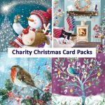 Charity Christmas Card Pack - 6 cards - 5 Designs - Traditional