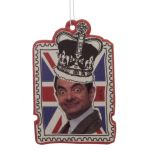 Mr Bean Crown Union Jack Air Freshener - Strawberry