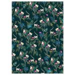 Lemur Dark Green Luxury Gift Wrap Sheet - Sara Miller