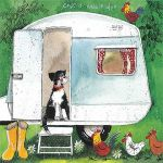 Greetings Card - Caravan Caravanners - Alex Clark