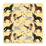 Horses Pony Coaster - Alex Clark