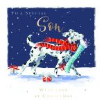Christmas Card - Son Dalmatian Dog - The Wildlife Ling Design