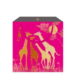 Giraffe Pink Gift Bag - Medium - Sara Miller