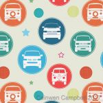 Campervan VW Wrapping Paper Sheets & Tags - Arty Penguin