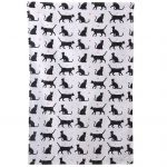 I Love My Cat Novelty Tea Towel - Poly Cotton