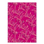 Birds Of Paradise Pink Luxury Gift Wrap Sheet & Tag Sara Miller