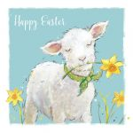 Easter Card - Spring Lamb - Cute - The Wildlife Ling Design