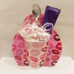 Cadbury's Hot Chocolate & Pink Lip Mug Gift Set - Valentine's Day