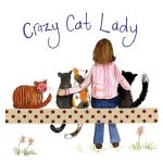 Crazy Cat Lady Coaster - Alex Clark