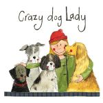 Crazy Dog Lady Coaster - Alex Clark