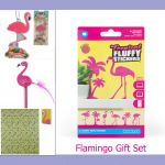 Flamingo Gift Set - Gift Envy 4 pieces