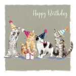 Birthday Card - Cat Purr-fect Day - The Wildlife Ling Design