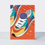 Birthday Card - Male Trainers - Piccolo