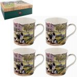 Collie Dog & Sheep Collection Fine China Mug Gift Set