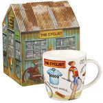 At Your Leisure Mug - The Cyclist Fine China Mug - Churchill