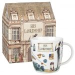 At Your Leisure Mug - His Lordship Fine China Mug - Churchill