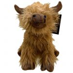 Highland Coo Cow Door Stop - Fluffy