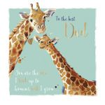 Father's Day Card - Dad - Giraffe - Wildlife Ling Design
