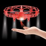 UFO Quad Copter - Induction Flying Toy Hand Controlled - Funtime