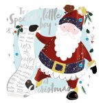 Christmas Card - Special Little Boy - Santa - Talking Pictures