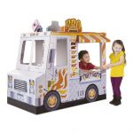 Melissa & Doug Food Truck Indoor Playhouse - Large