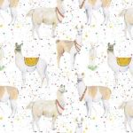 Llama Wrapping Paper 2 Sheets & Tags - Arty Penguin