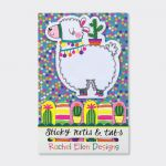 Llama Design Sticky Note & Tabs Set - Rachel Ellen
