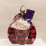 Cadbury's Hot Chocolate & Black Lip Mug Gift Set - Mother's Day Birthday