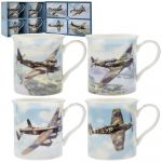 Classic Aeroplanes Collection Fine China Mug Gift Set