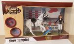 Show jumping Playset Horse & Rider - 26 Items - Saddle Pals 14336