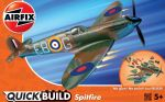 Spitfire Aeroplane - Model Kit - 34 Pieces Airfix Quickbuild - J6000