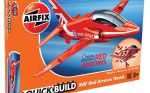 RAF Red Arrows Hawk Aeroplane - Model Kit - Airfix Quickbuild - J6018