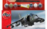 Hawker Harrier GR1 Aeroplane - Scale 1:72 Model Kit Medium Starter Set - Airfix - A55205