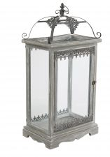 Huge Grey Garden Lantern - 3ft High