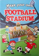 Football Stadium 3D Construction Book - Make Your Own