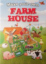 Farm House 3D Construction Book - Make Your Own