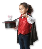 Melissa & Doug Magician Fancy Dress Outfit