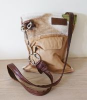 Wilkie Snaffle Beval Bit Cowhide & Leather Handbag - Joey D
