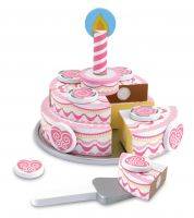 Melissa & Doug Wooden Birthday Cake
