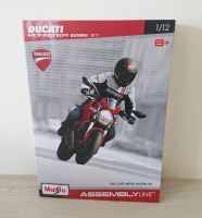 Ducati Monster 696 (2011) Diecast Metal Model Kit Scale 1:12