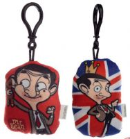 Mr Bean Plush Sound Keyring - 2 Designs