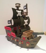 Pirate Ship Model Making Kit - Design & Build