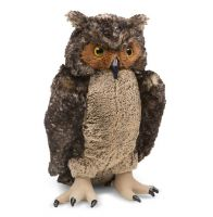 Lifelike Lifesize Owl Plush Soft Toy